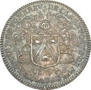 Jeton - Auguste Robert de Pomereu (Prévôt des marchands) – obverse