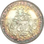Jeton - Auguste Robert de Pomereu (Prévôt des marchands) – reverse