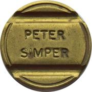 Token - Peter Simper – reverse
