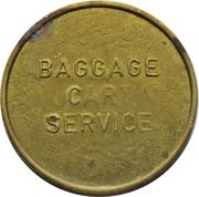 Token - Baggage Cart Service – obverse