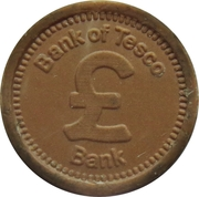 1 Penny - Bank of Tesco – obverse