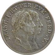 Coronation Ferdinand V – obverse