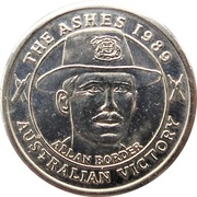 Commemorative Medal - The Courier-Mail (The Ashes) – obverse