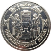 Commemorative Medal - The Courier-Mail (The Ashes) – reverse