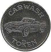 50 Cents Carwash Token – obverse