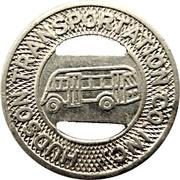 1 Fare - Hudson Transportation Co. Inc. (Glens Falls, New York) – obverse