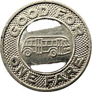 1 Fare - Hudson Transportation Co. Inc. (Glens Falls, New York) – reverse