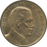 Token - Carl Gustaf Mannerheim – obverse
