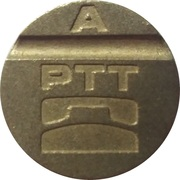 Telephone Token - PTT A (Montal) – obverse