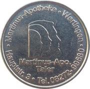 Rathaus Taler & Martinus Taler - Rathaus & Martinus Apotheke (Meitingen, Wertingen) – reverse