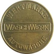 Car Wash Token - Waschwerk Wertmarke – obverse