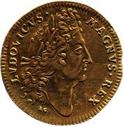 Counter Token - Louis XIV (Ponts et Chaussées; Lazarus Gottlieb Lauffer; Nuremberg) – obverse