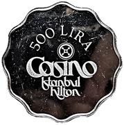 500 Lira - Casino Istanbul Hilton – obverse