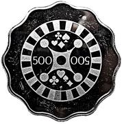 500 Lira - Casino Istanbul Hilton – reverse