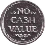 Token - No Cash Value (Eagle looking right; 23 mm; Copper-nickel) – reverse