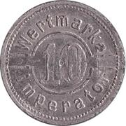 10 Pfennig - Wertmarke Imperator – reverse
