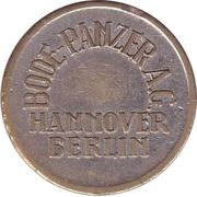 Safe deposit token - Sparkasse Bremerhaven (Bode-Panzer A.G.) – obverse