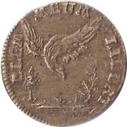 Rechenpfenning (Minerva / Elementum Meum Libertas) – reverse