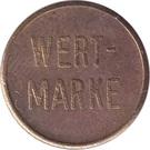 Token - Wertmarke – obverse
