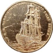 Medal - Captain James Cook Bicentenary – obverse