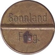 Token - Gas-Marke Sonnland Frbg. – reverse