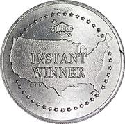 Token - Sunoco Landmarks of America (The Statue of Liberty; Instant Winner) – reverse