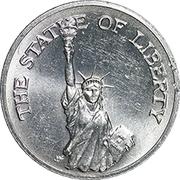 Token - Sunoco Landmarks of America (The Statue of Liberty; Instant Winner) – obverse