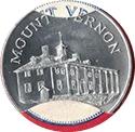 Token - Sunoco Landmarks of America (Mount Vernon; Instant Winner) – obverse