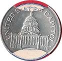 Token - Sunoco Landmarks of America (United States Capitol) – obverse