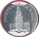 Token - Sunoco Landmarks of America (Independence Hall) – obverse