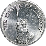 Token - Sunoco Landmarks of America (The Statue of Liberty) – obverse