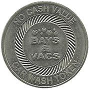 Car Wash Token - Bays & Vacs – obverse