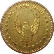 Token - No Cash Value (Eagle looking left, on both sides; 22 mm) – obverse