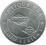 Token - Sunoco Antique Car Coin Series 1 (Autocar Type VIII) – reverse