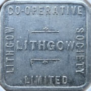 ½ Loaf Bakery Token - Lithgow Co-Operative Society – obverse