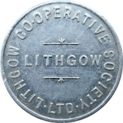 1 Loaf Bakery Token - Lithgow Co-Operative Society – obverse