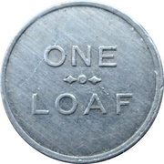 1 Loaf Bakery Token - Lithgow Co-Operative Society – reverse