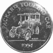 Token - Sunoco Antique Car Coin Series 2 (Packard Touring Car; Instant Winner) – obverse