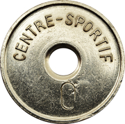 Swimming Pool Token - Centre-Sportif (Schifflange) – reverse