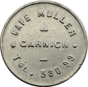 Token - Café Muller (Garnich) – obverse