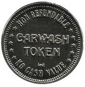 Carwash Token - Oasis Car Wash Garden Grove – reverse