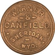 12 ½ Cents - Warner & Canfield (Sheridan, Wyo.) – obverse