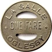 1 Fare - La Salle Oglesby (Illinois) – obverse