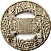 1 Fare - La Salle Oglesby (Illinois) – reverse