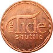 1 Ride Token - The Tide Shuttle (Santa Monica, CA.) – obverse