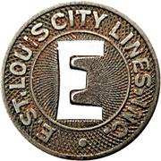 1 City Fare - E. St. Louis City Lines (Illinois) – obverse