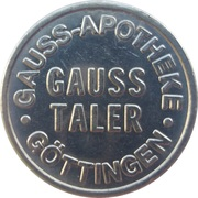 Gauss Taler - Gauss Apotheke (Göttingen) – obverse