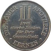 Römer Taler - Römer Apotheke (Kernen) – obverse