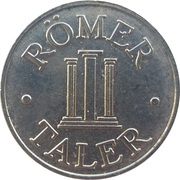 Römer Taler - Römer Apotheke (Kernen) – reverse