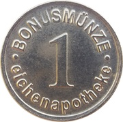 1 Bonusmünze - Eichenapotheke – obverse